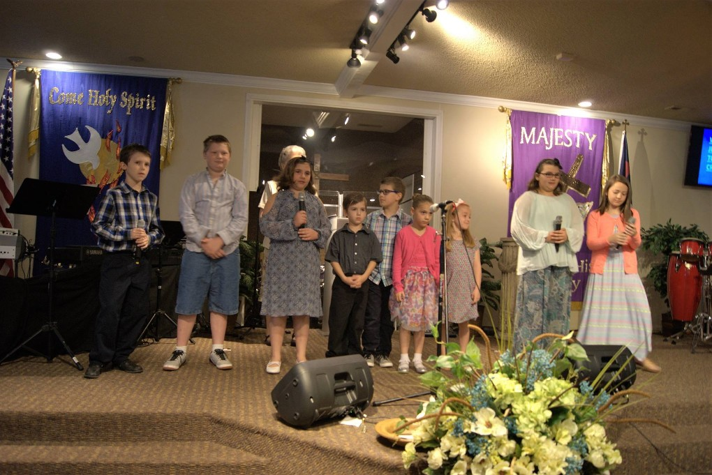 Palm Sunday 2017- Children's Presentation