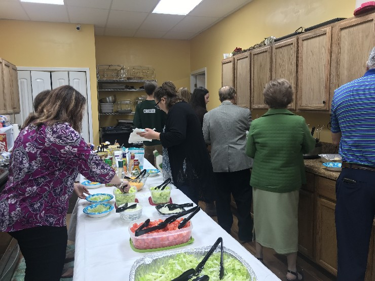 Church Meal-March 2019